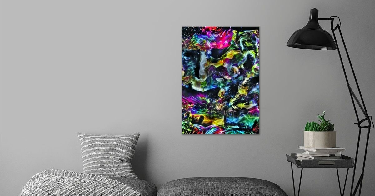 'Sparkling Beautiful' Poster Print by ACR ACR   Displate