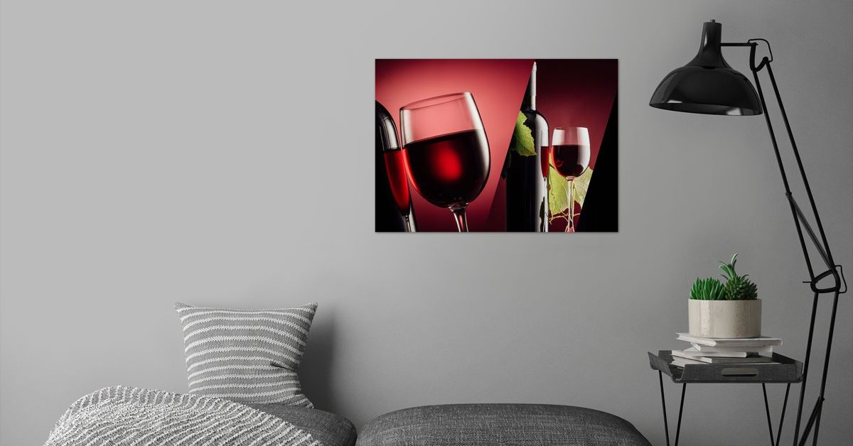 'Old grapes' Poster Print by ACR ACR | Displate