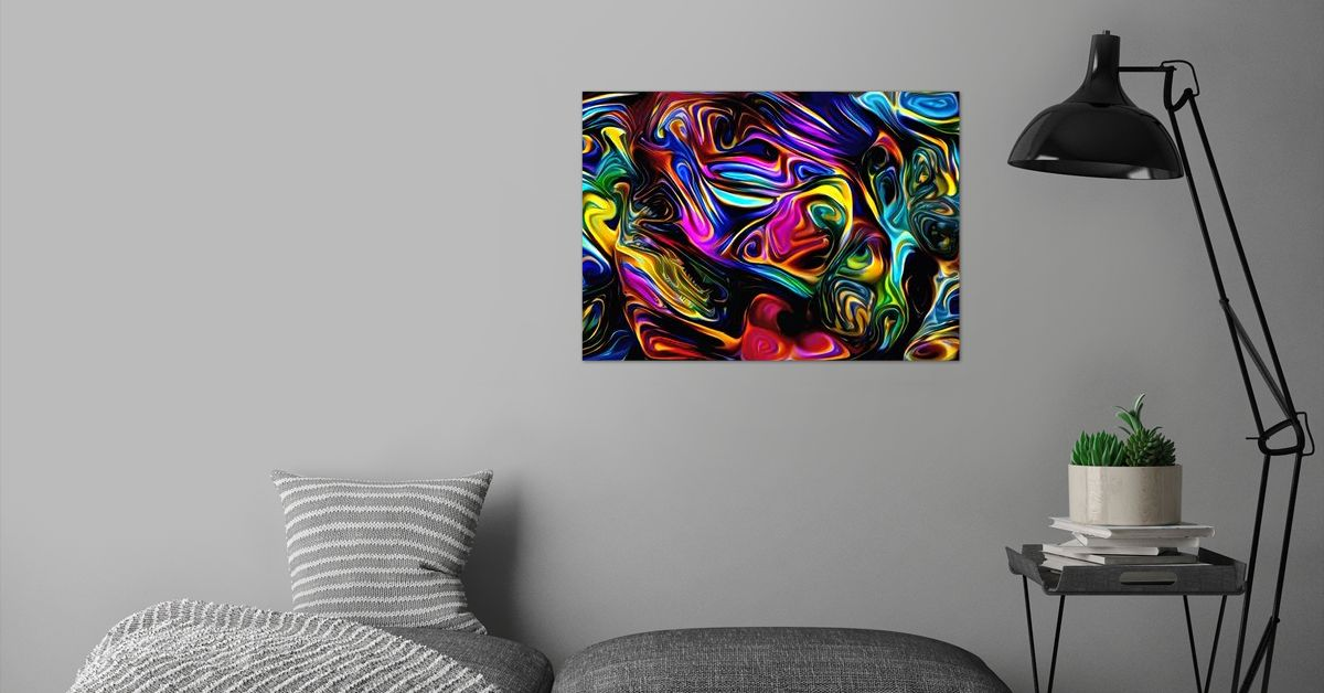 'Master of Magic' Poster Print by ACR ACR | Displate