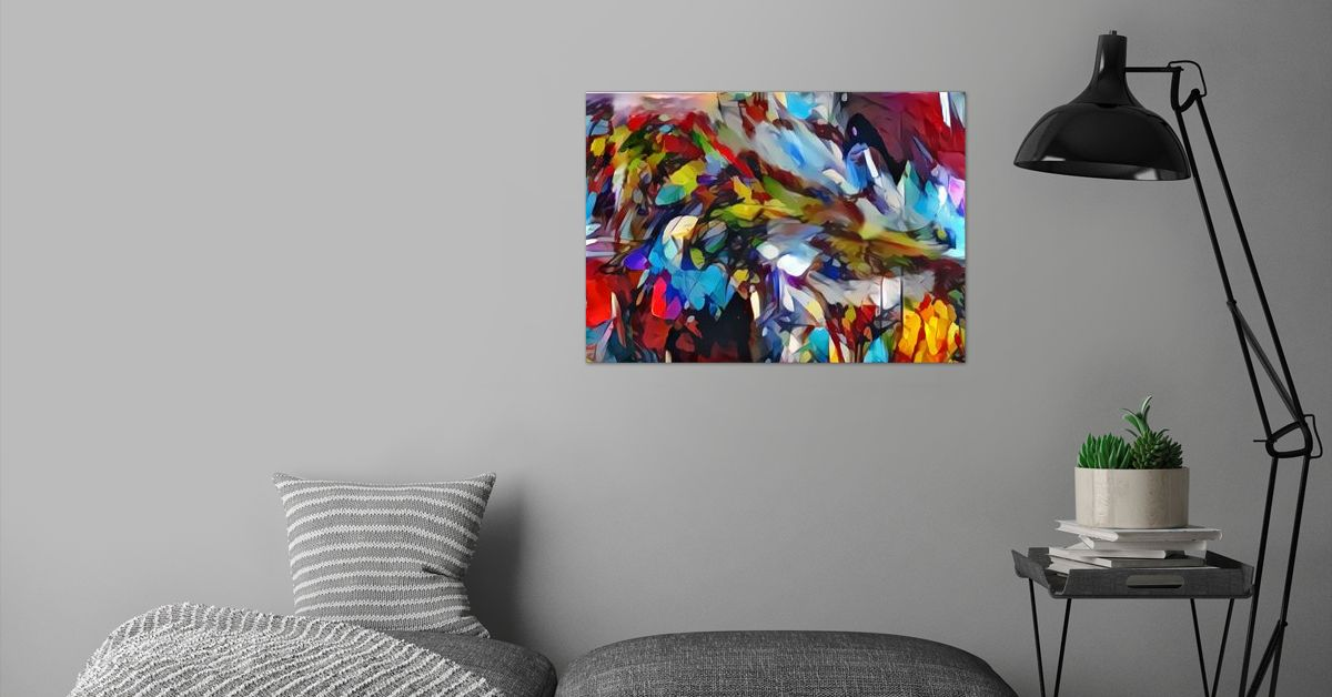 'Augmented Surrealism' Poster Print by ACR ACR | Displate
