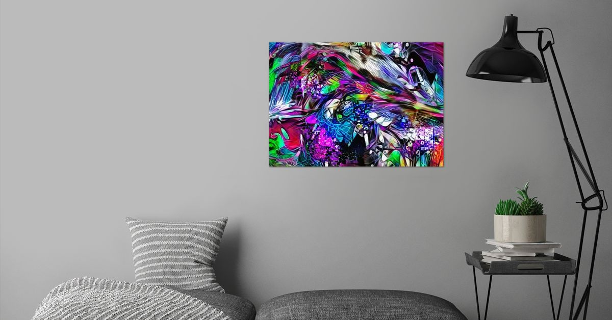 'Alien innovations' Poster Print by ACR ACR | Displate