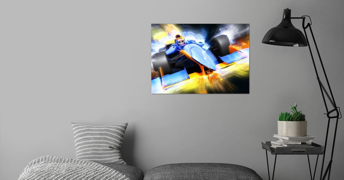 'Golden Champion' Metal Poster Print - ACR ACR | Displate