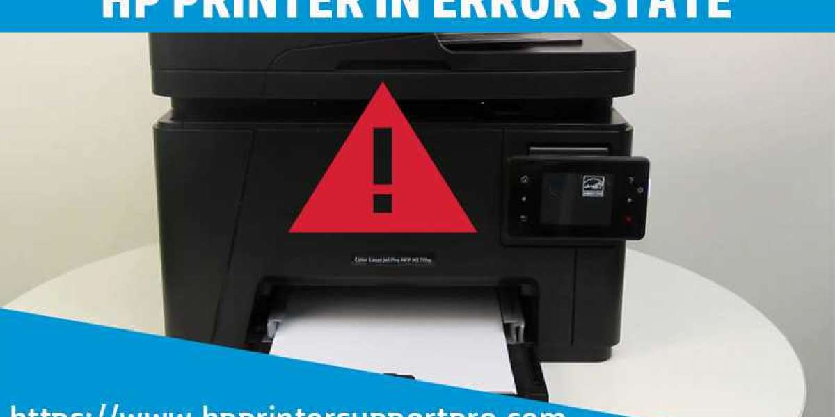 How To Fix HP Printer In Error State Issue?
