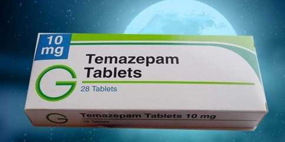 Buy Temazepam online UK for relief from anxiety related insomnia