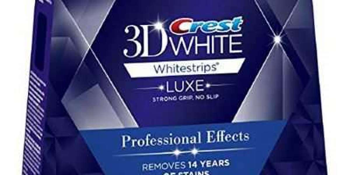 Crest 3D White Luxe Tandblegningsstrips med Professionel Virkning – Crest Whitestrips Blegning på Professionelt Niveau