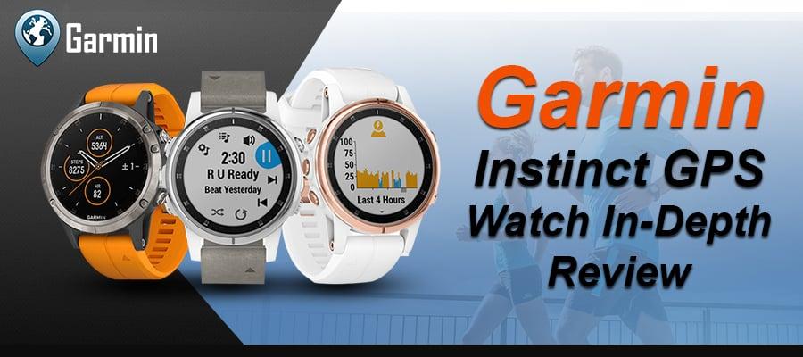 Garmin Instinct GPS Watch In-Depth Review - Garmin Smartwatch
