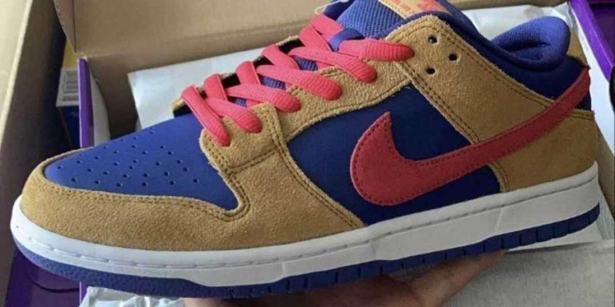 "Brand New 2021 Nike SB Dunk Low ""Pelle Hat"" Skateboard Shoes"