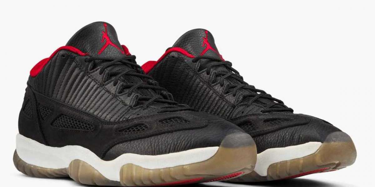 """New 2021 Air Jordan 11 Low IE """"Bred"""" will be released on September 18th"""