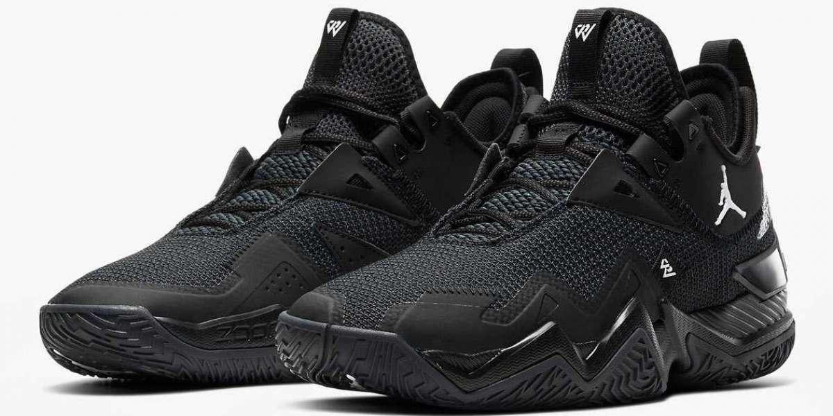 Fashion Jordan Westbrook One Take Black Cat CJ0781-002 Cheap Sale