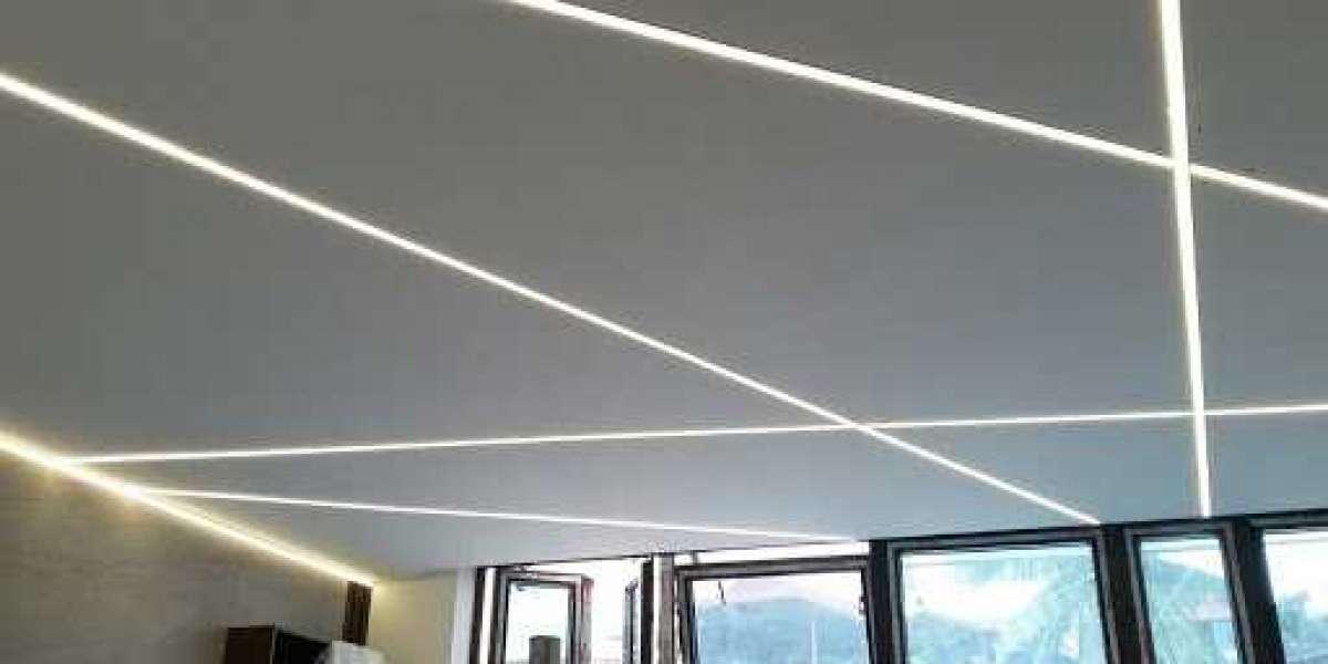 Tại sao dùng đèn thanh nhôm định hình cho chiếu sáng đèn led