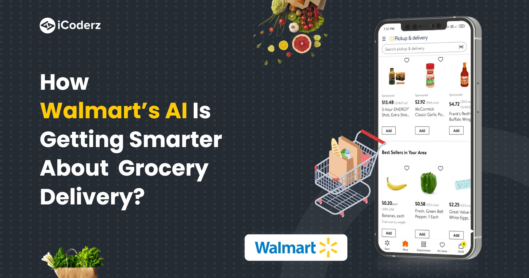 How Walmart's AI is getting smarter about grocery delivery?