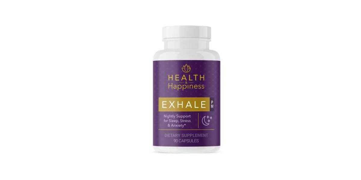 Exhale PM Amazon: UK, Australia, Canada, NZ, USA, South Africa - (Ingredients Updates)