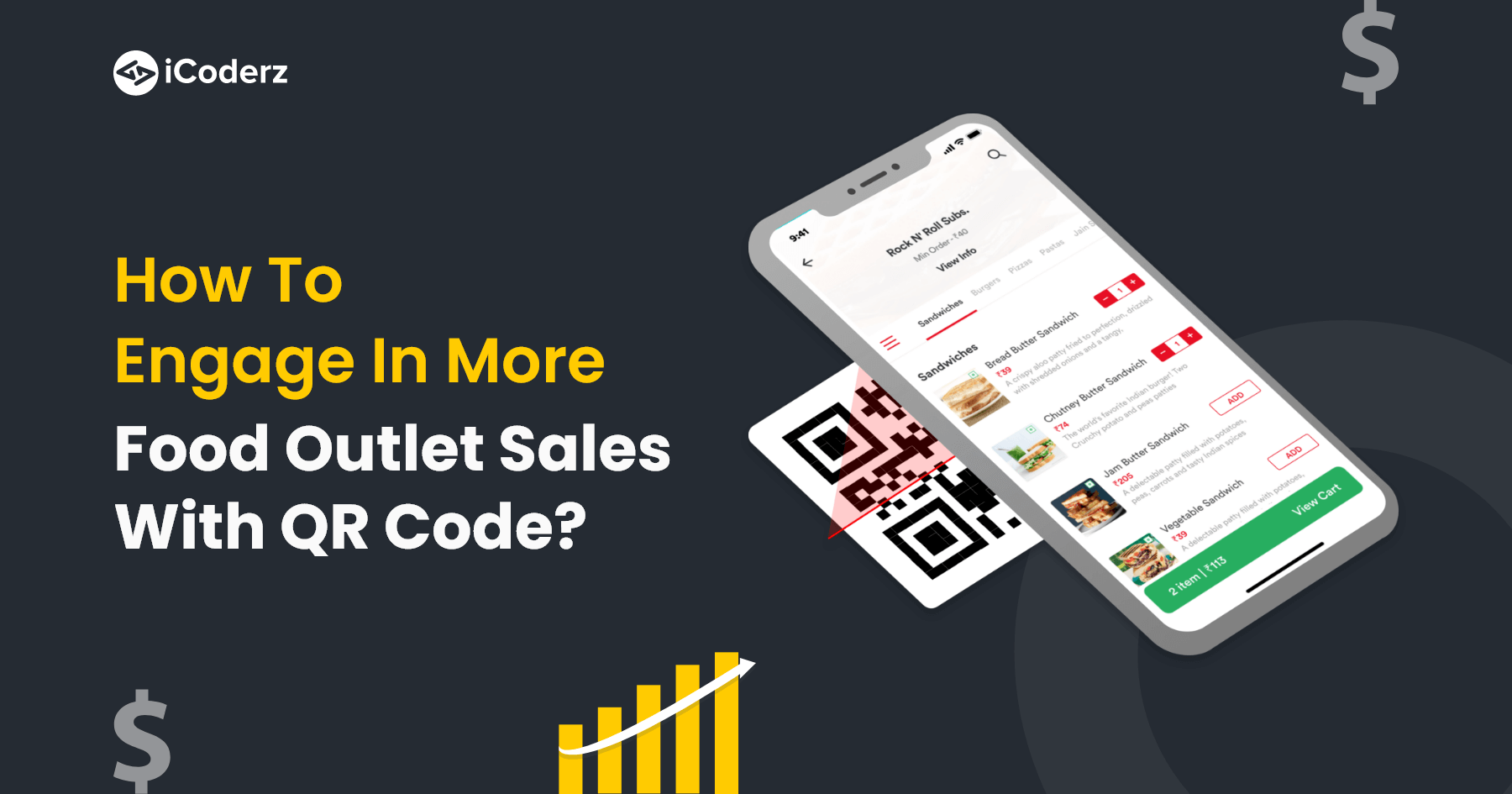 How to Engage in More Food Outlet Sales with QR Code?