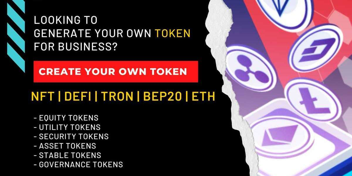 Crypto Token Development Company - Create your Own Crypto Token