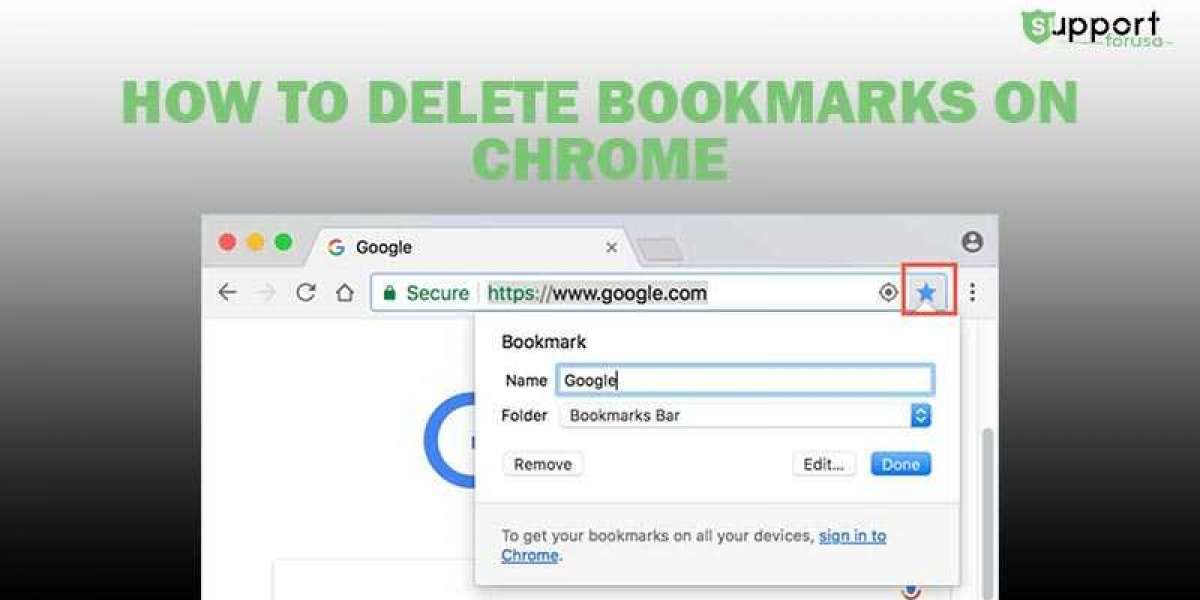 How do I Delete Bookmarks from Chrome Browser?